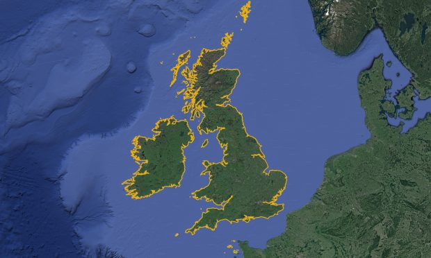 Coastline of the British Isles